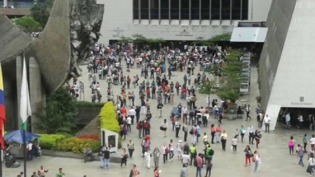 Amenaza de bomba en Medellín