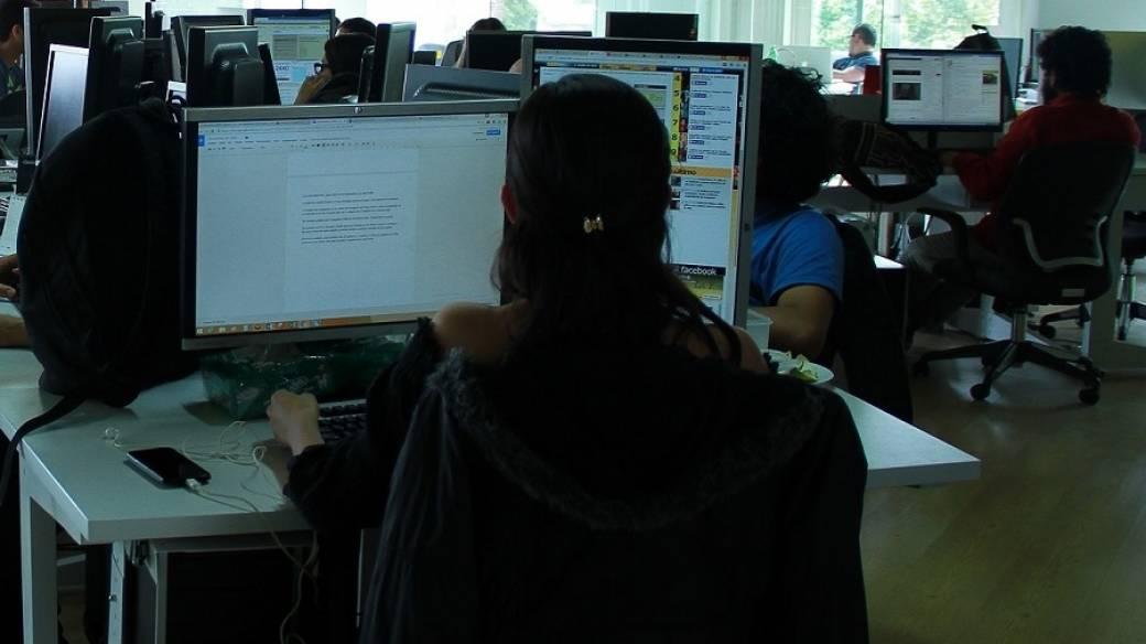 Sala de redacción