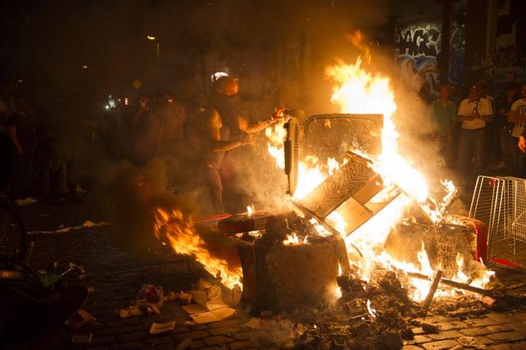 Protestas contra el G20. Pulzo.com