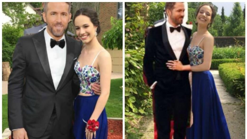 Joven reemplaza a su novio por Ryan Reynolds en fotos de prom. Pulzo.com