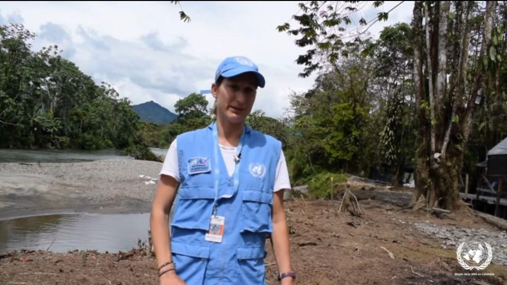 Observadora de la ONU