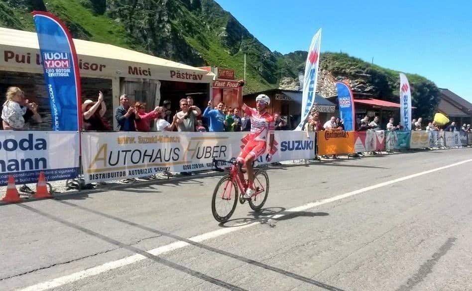 Egan Bernal gana etapa del Tour de Sibiu