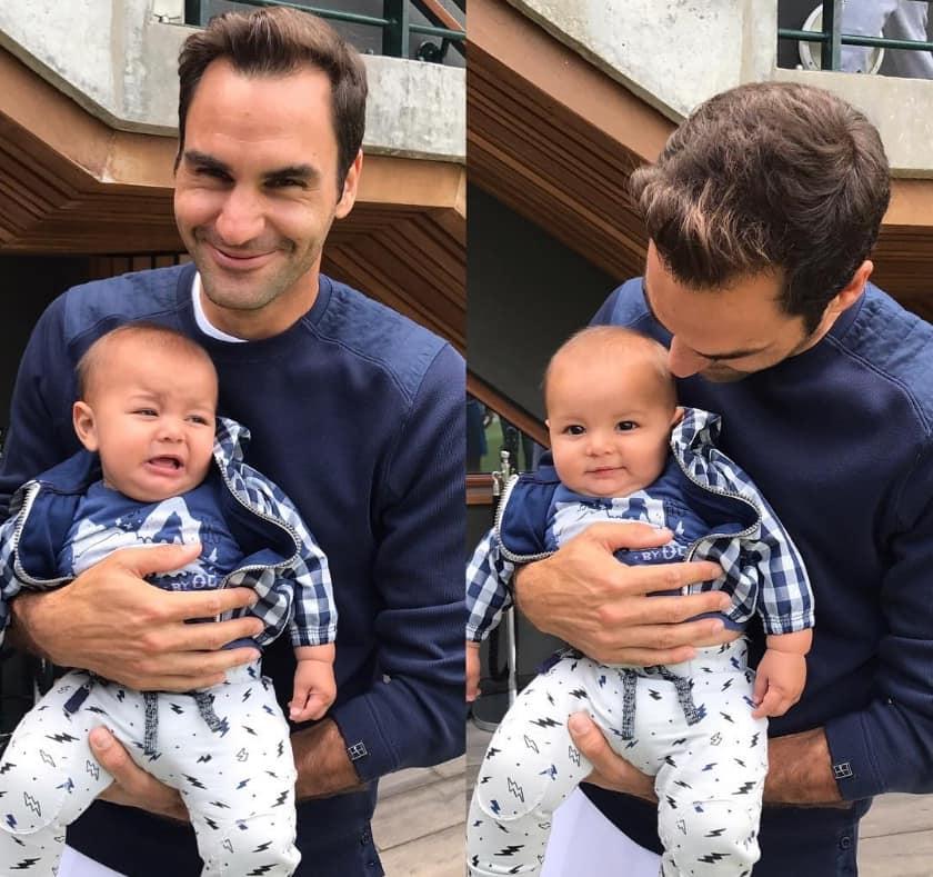 Federer y Jacobo Cabal