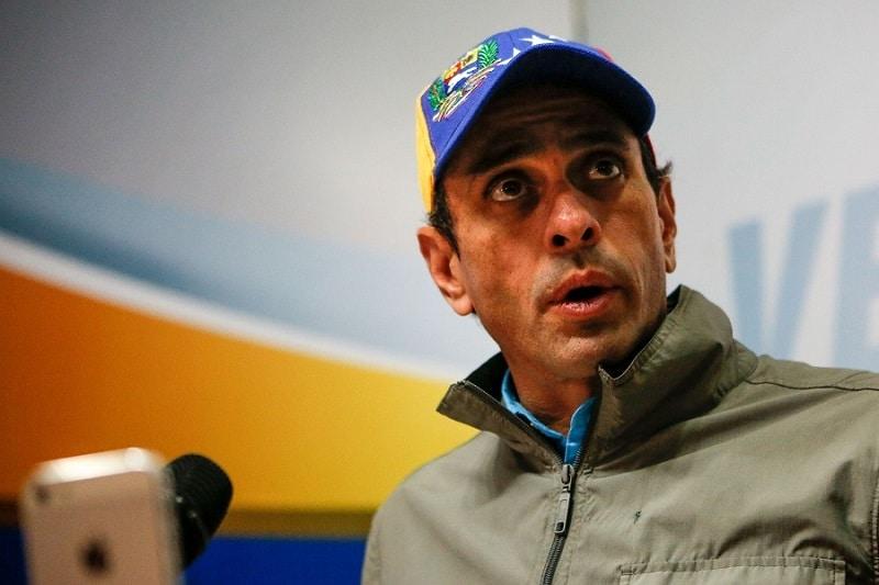 """CAPRILES APUESTA POR UN DIÁLOGO EN VENEZUELA """"CON AGENDA, TIEMPO Y RESULTADO"""""""