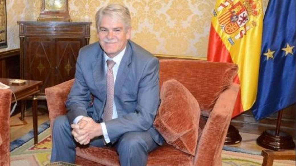 Alonso Dastis, ministro español de Asuntos Exteriores