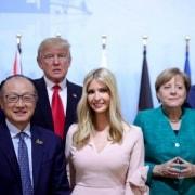 Reunión del G20, a la que asistió Ivanka trump.