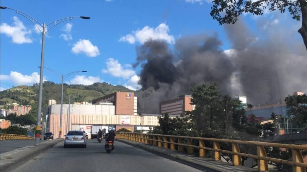 Incendio en Sabaneta