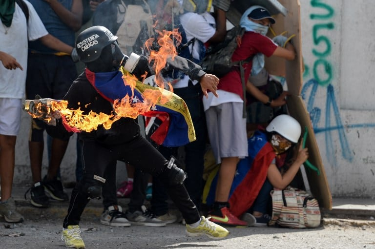 VENEZUELA-CRISIS-OPPOSITION-PROTEST-100 DAYS