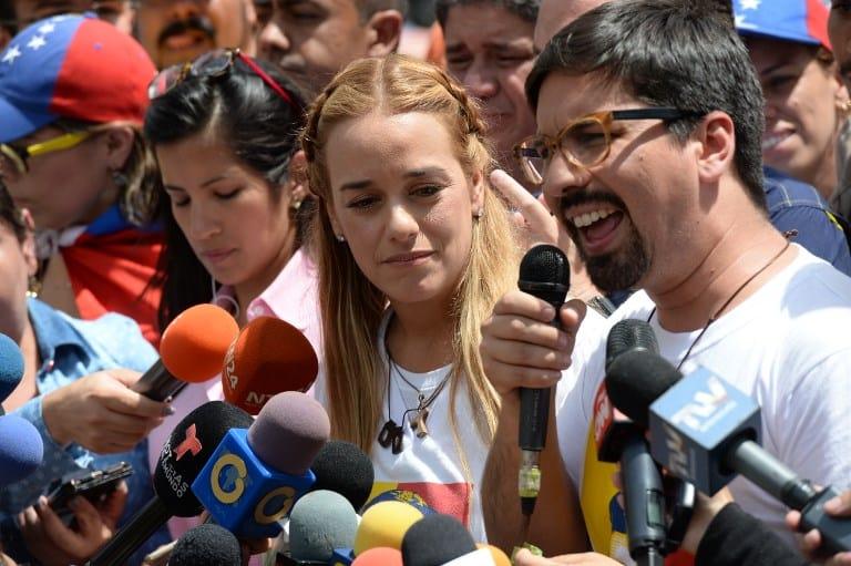 Movilización en Venezuela