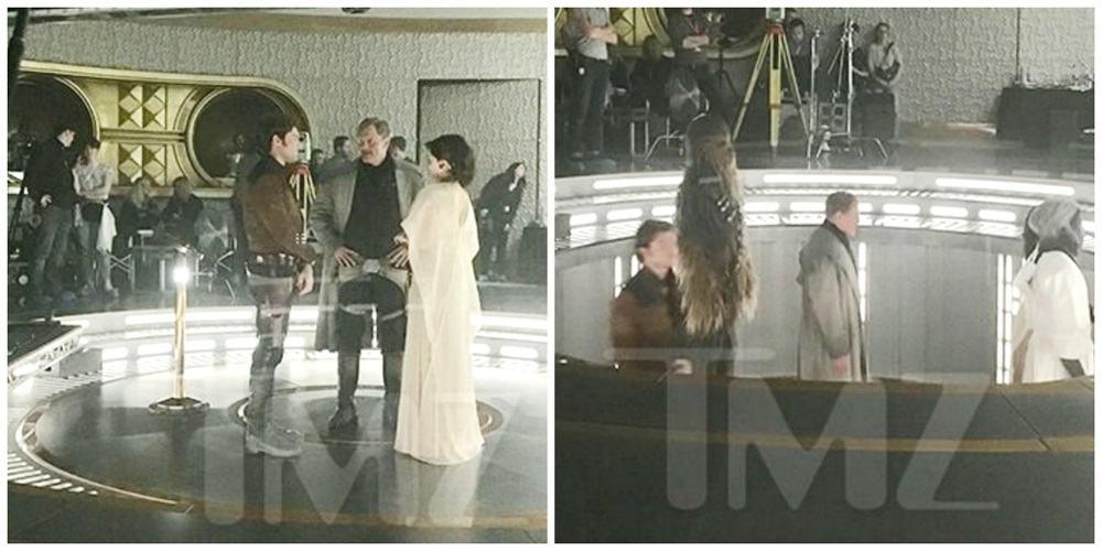 Imágenes grabación película Han Solo Star Wars