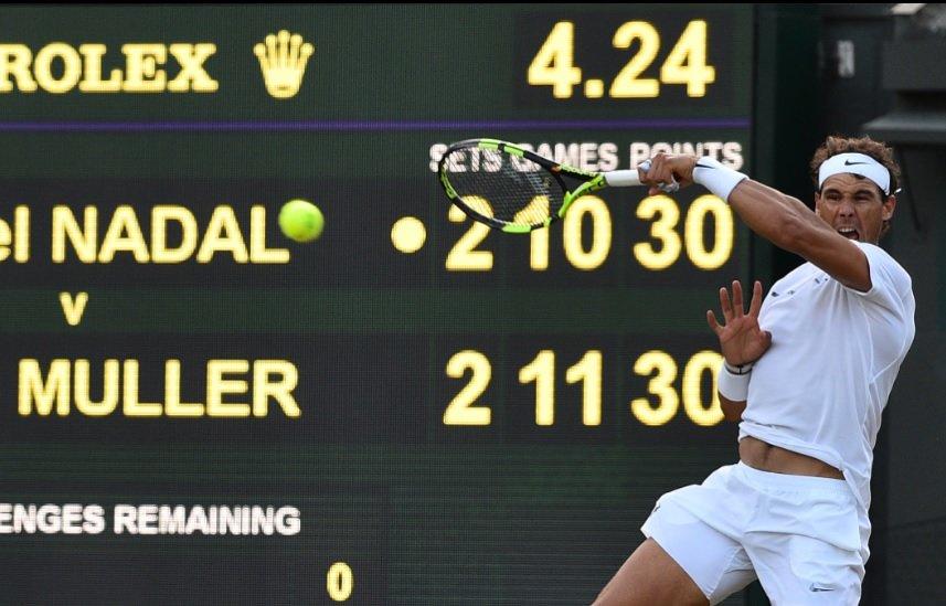 Nadal vs. Muller