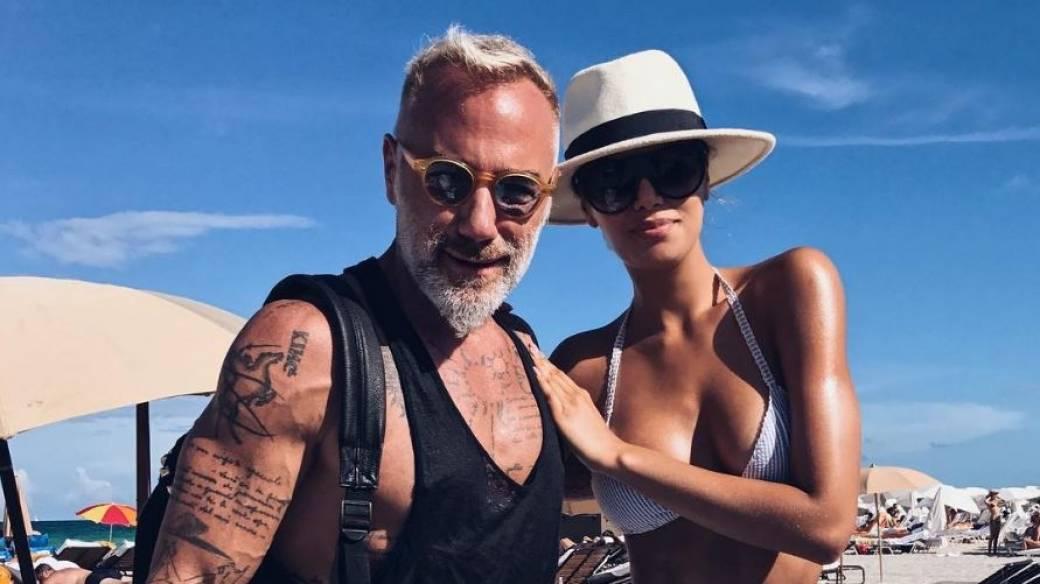 Gianluca Vacchi, 'el millonario de Instagram', y Ariadna Gutiérrez, exvirreina universal.