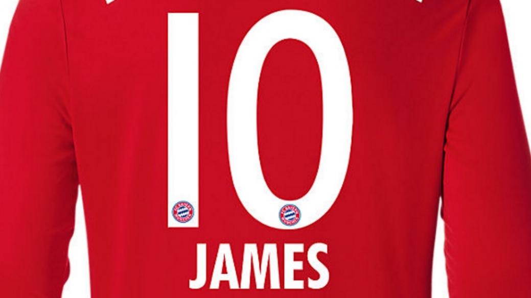 Camiseta 10 de James
