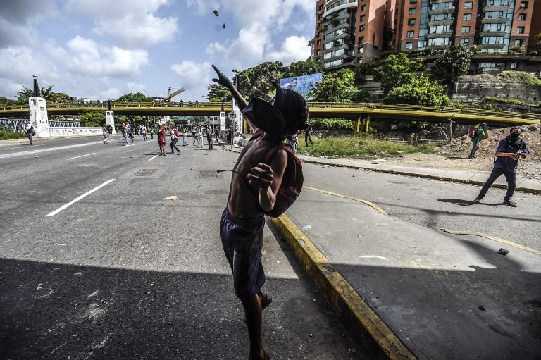 VENEZUELA, CRISIS en protestas