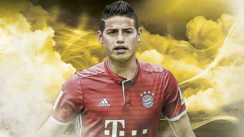 James Rodríguez, al FC Bayern