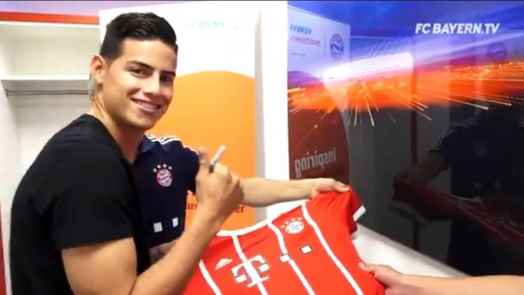 James en el Bayern