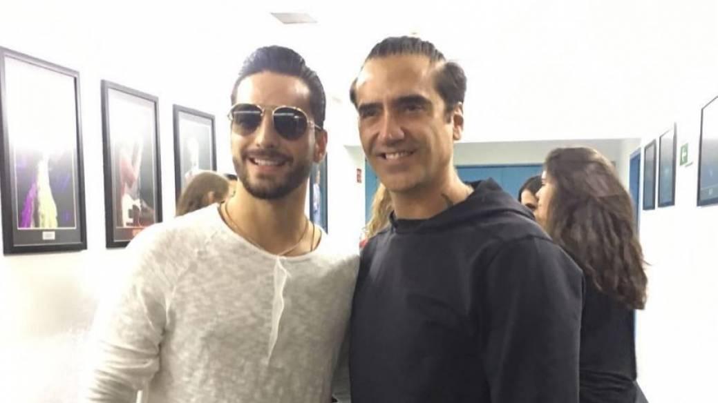 Maluma y Alejandro Fernández