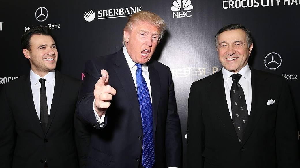 Aras Agalarov y Donald Trump