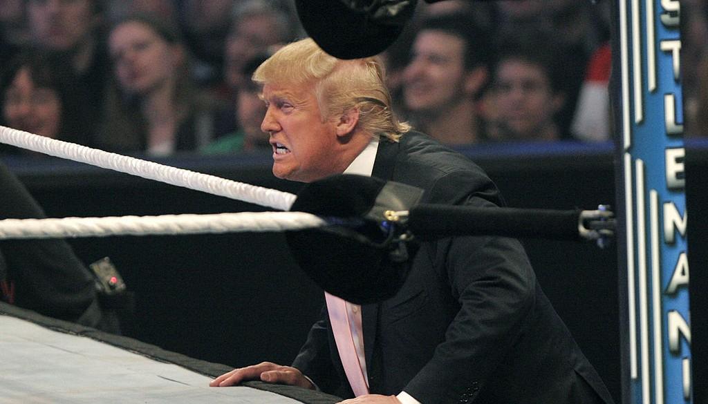 Donald Trump frente al cuadrilátero