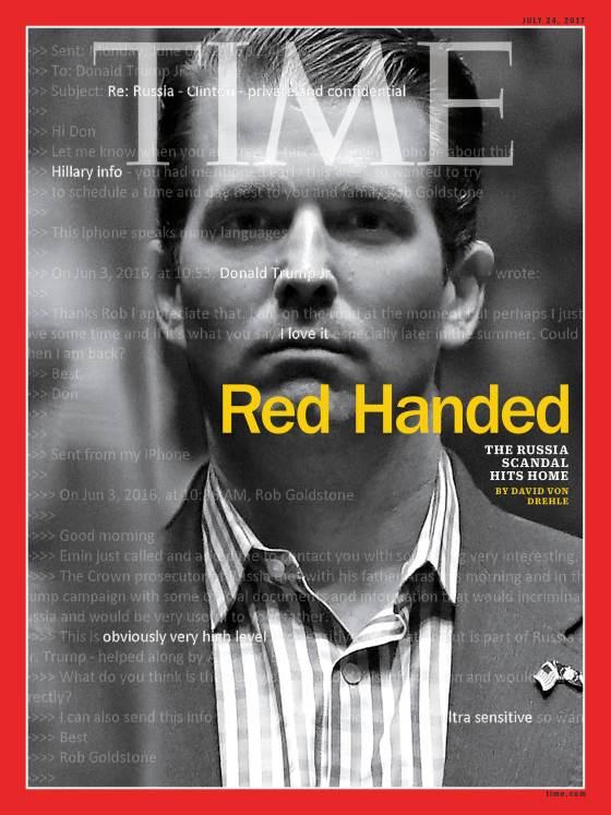 Portada de revista Time