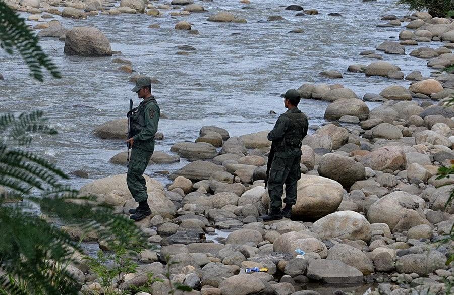 Miembros de la Guardia Nacional Bolivariana