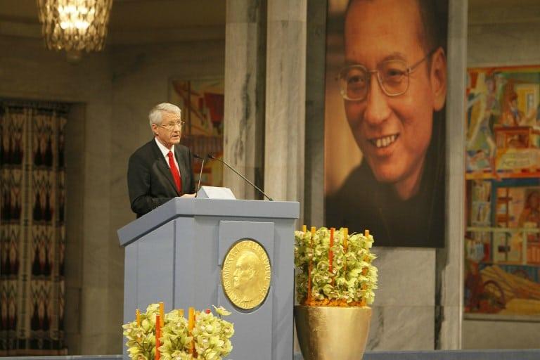Thorbjorn Jagland, presidente del Comité Noruego del Nobel