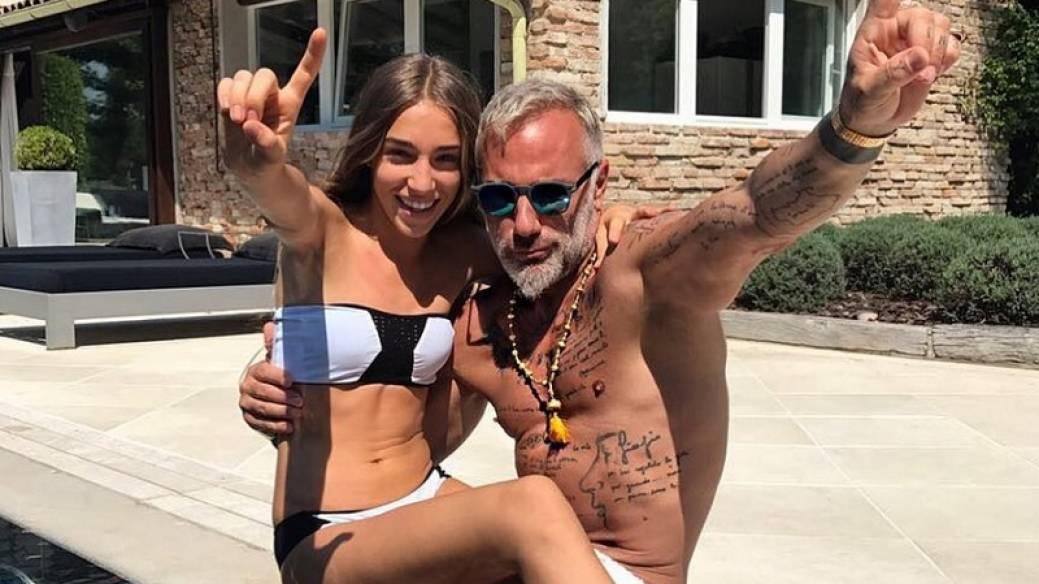 Gianluca Vacchi y Ginevra Mavilla