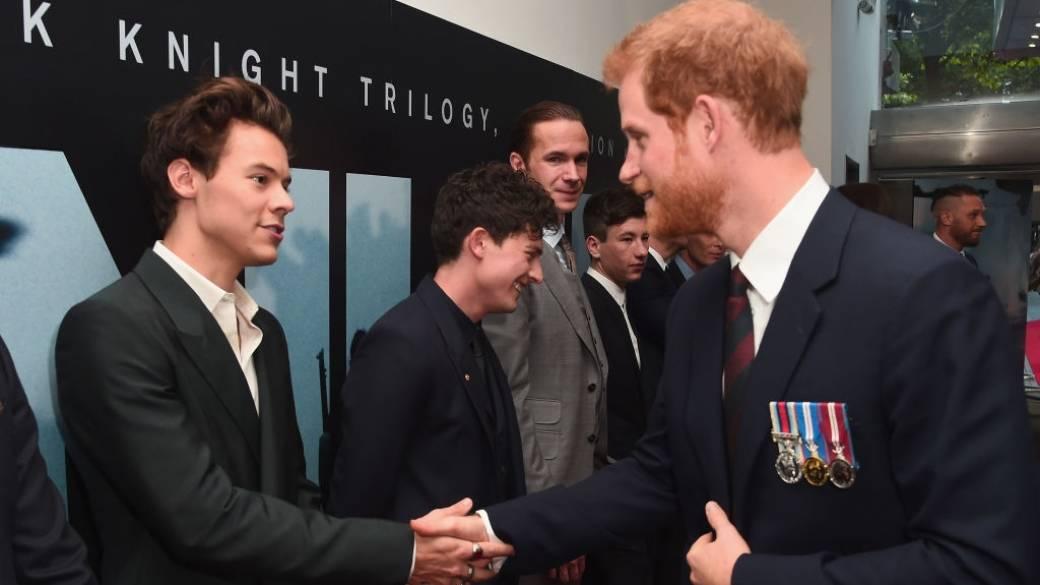 Encuentro Harry Styles y príncipe Harry