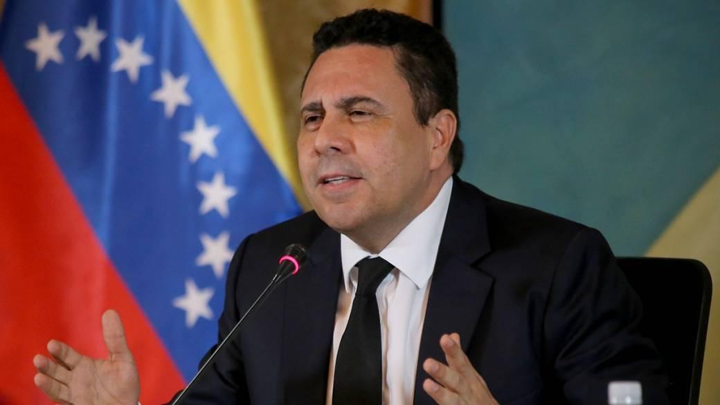 Samuel Moncada, canciller de Venezuela