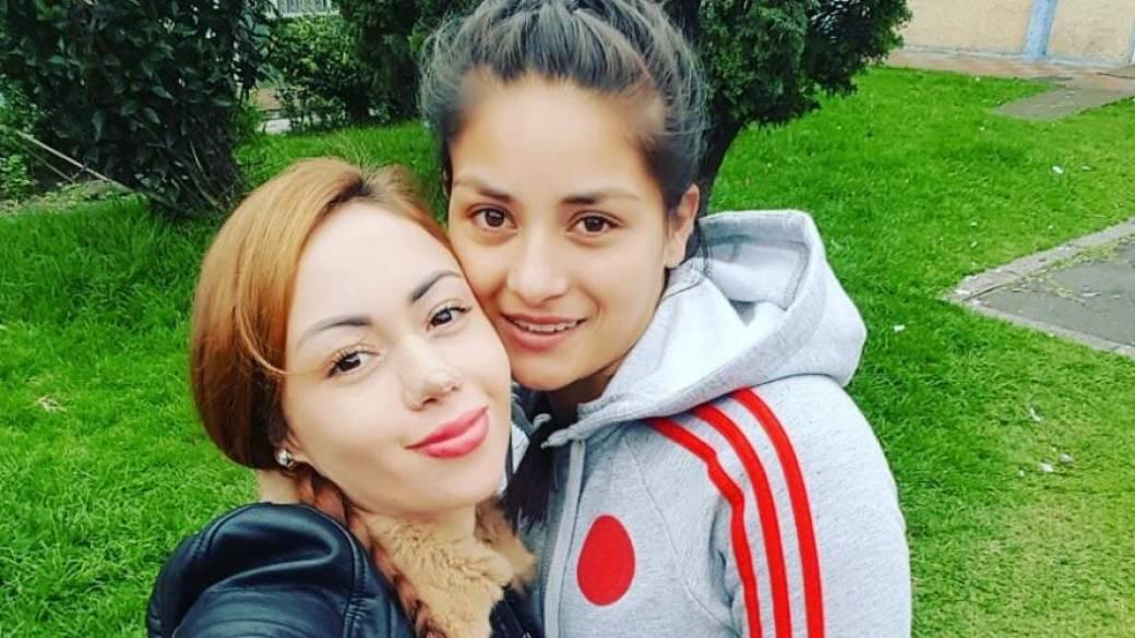 Diana Celis, futbolista profesional, y Daneidy Barrera, 'Epa Colombia'.