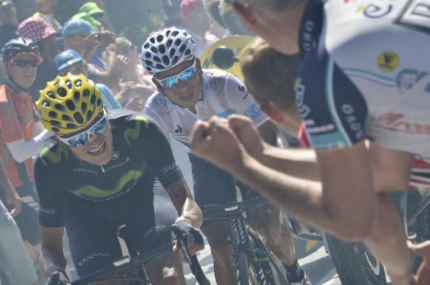 Nairo Quintana y Winner Anacona