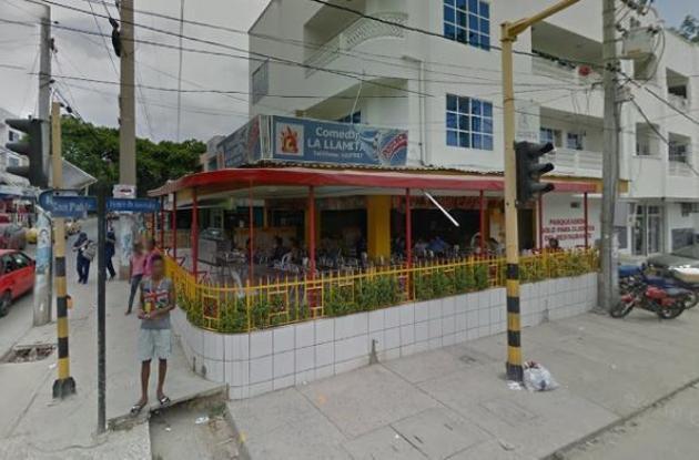 Restaurante 'La Llamita', en Cartagena