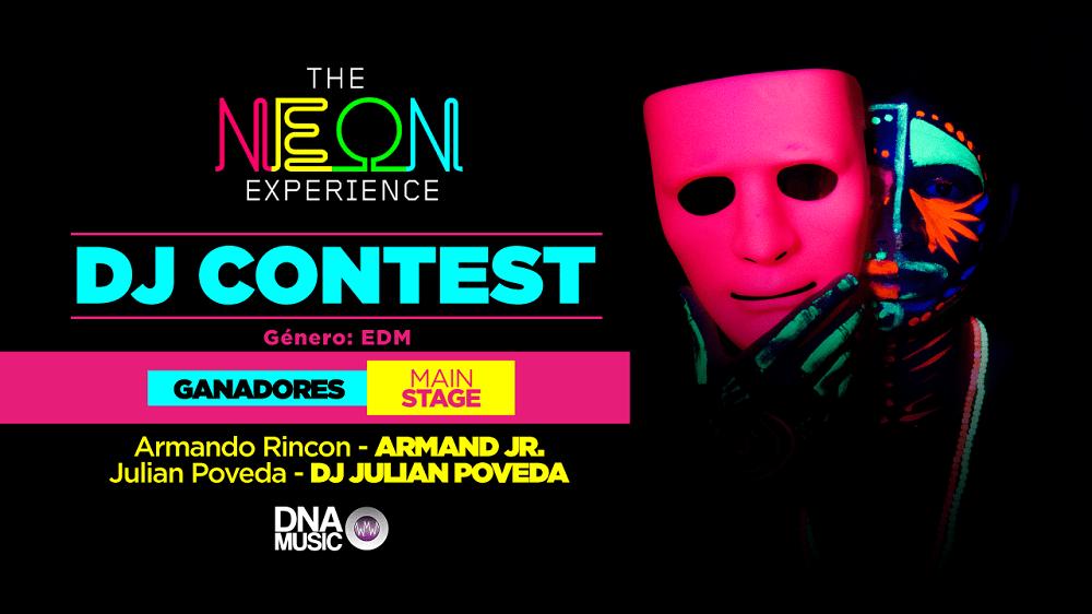 DJ Contest Neon experience - Pulzo.com