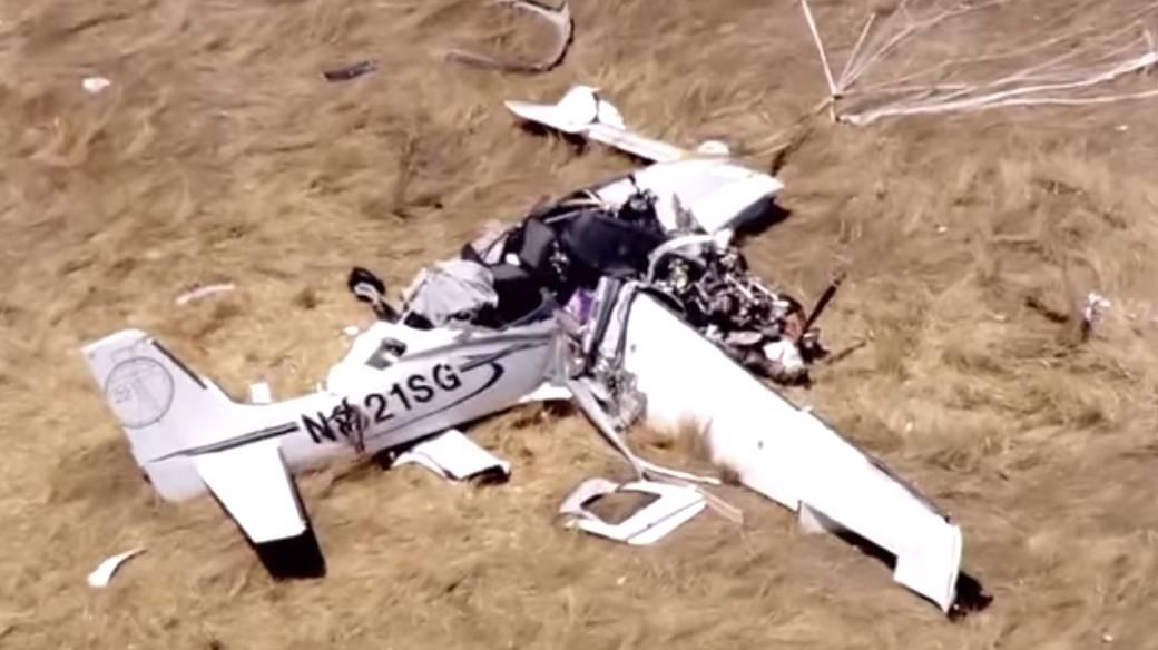 Accidente de avión