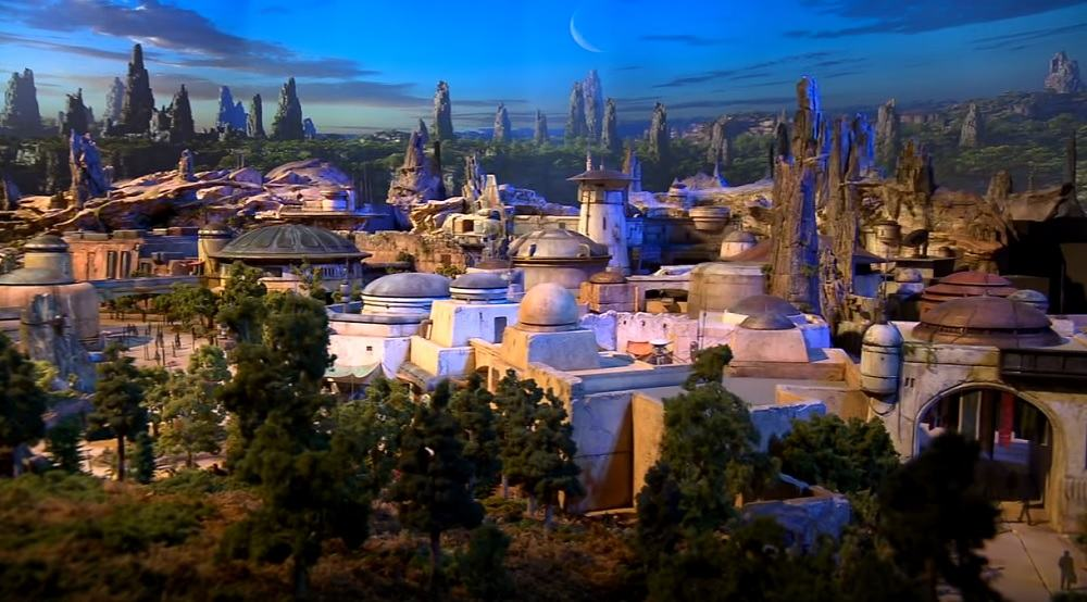 Imágenes parque temático Star Wars