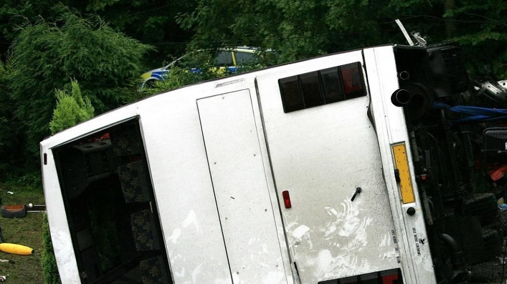 Accidente de bus.