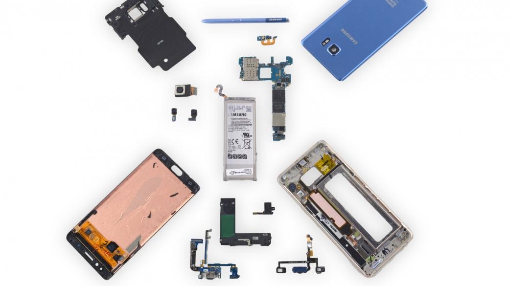 Galaxy Note 7 Fan Edition experimento