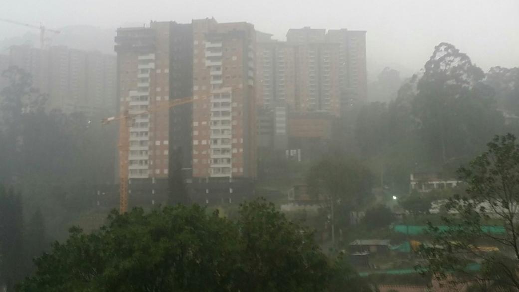 Lluvias en Envigado