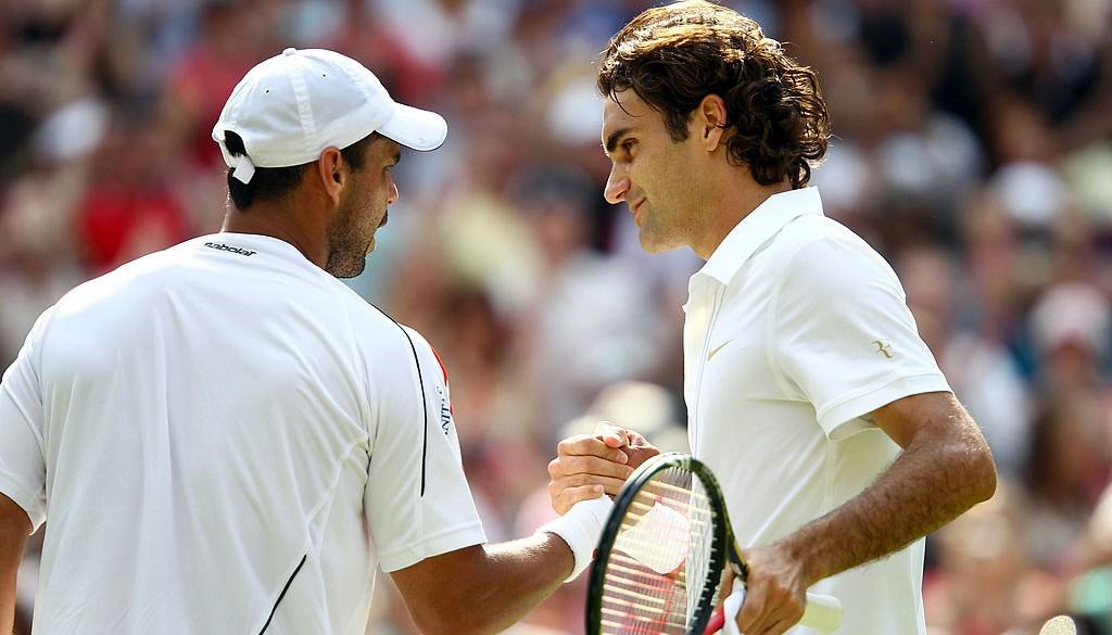 Falla y Federer