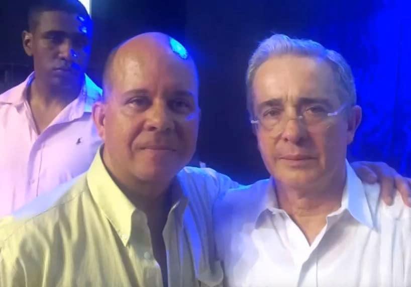 Jorge Luis Henao Arango y Álvaro Uribe