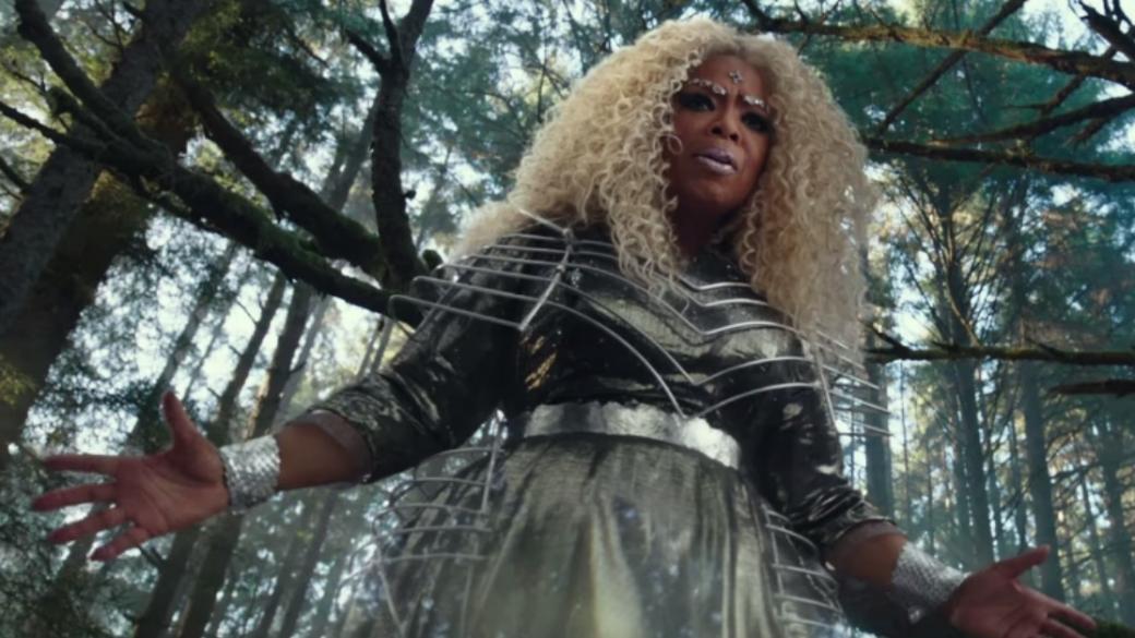 Oprah Winfrey en la película 'Una arruga en el tiempo'.