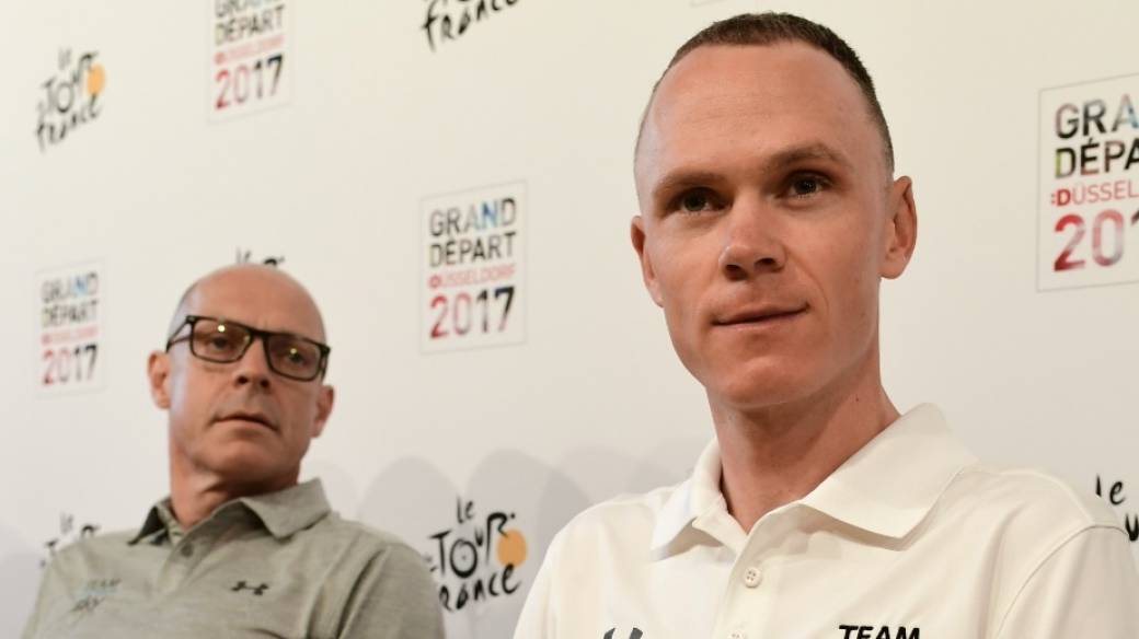 Dave Brailsford y Chris Froome