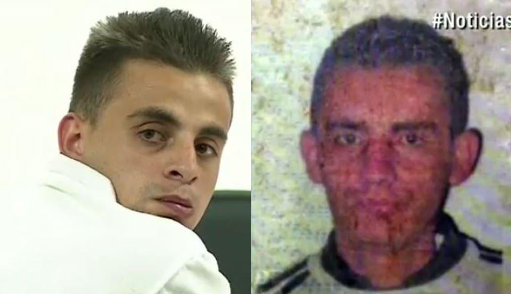 Luis Fernando Villada (Izq.) condenado por el crimen de Alfonso Peñalosa (Der.) y un menor de edad
