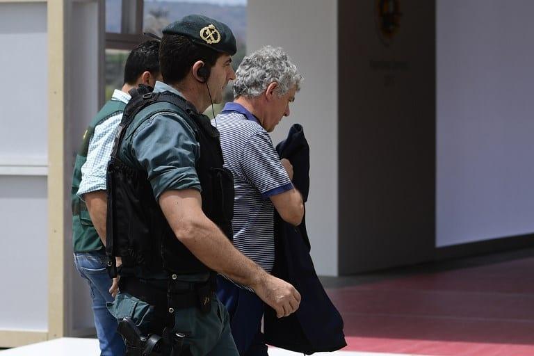 Detención Ángel María Villar