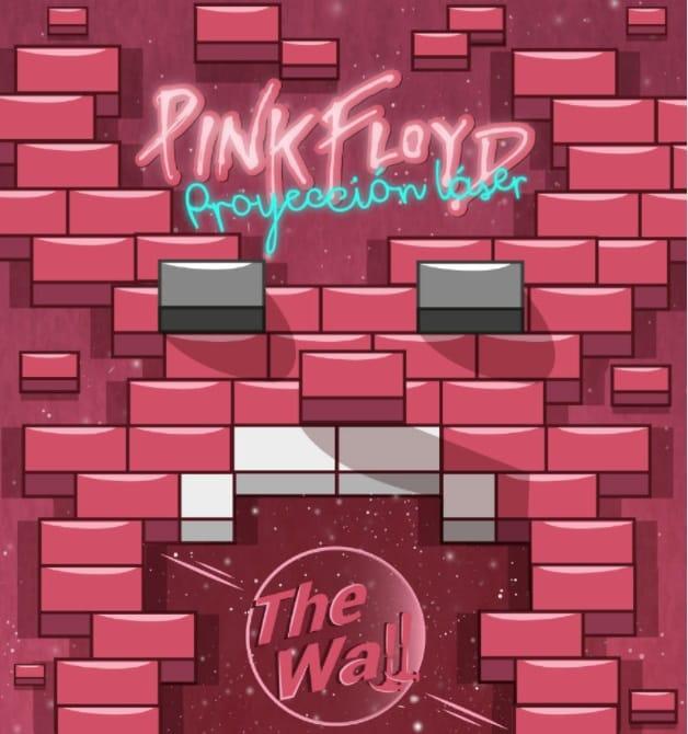 Pink Floyd, proyección laser