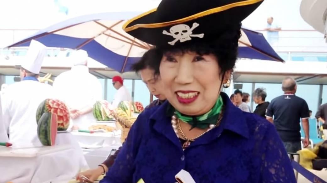 Abuela 'youtuber' surcoreana.