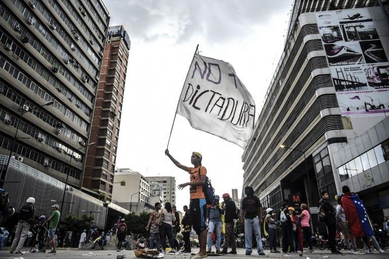 Manifestaciones en Venezuela contra Maduro