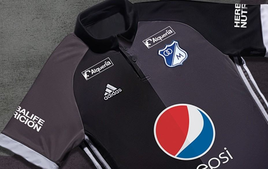 Camiseta suplente de Millonarios en 2017