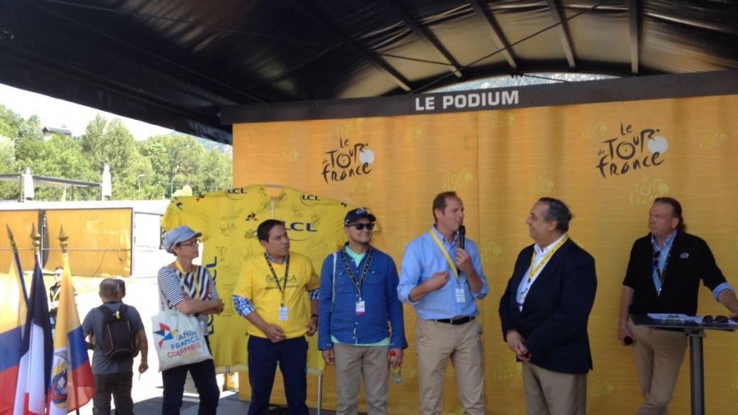 Homenaje a Colombia en Tour de Francia