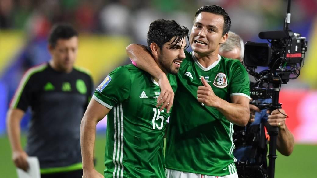Gol de México en la Copa Oro